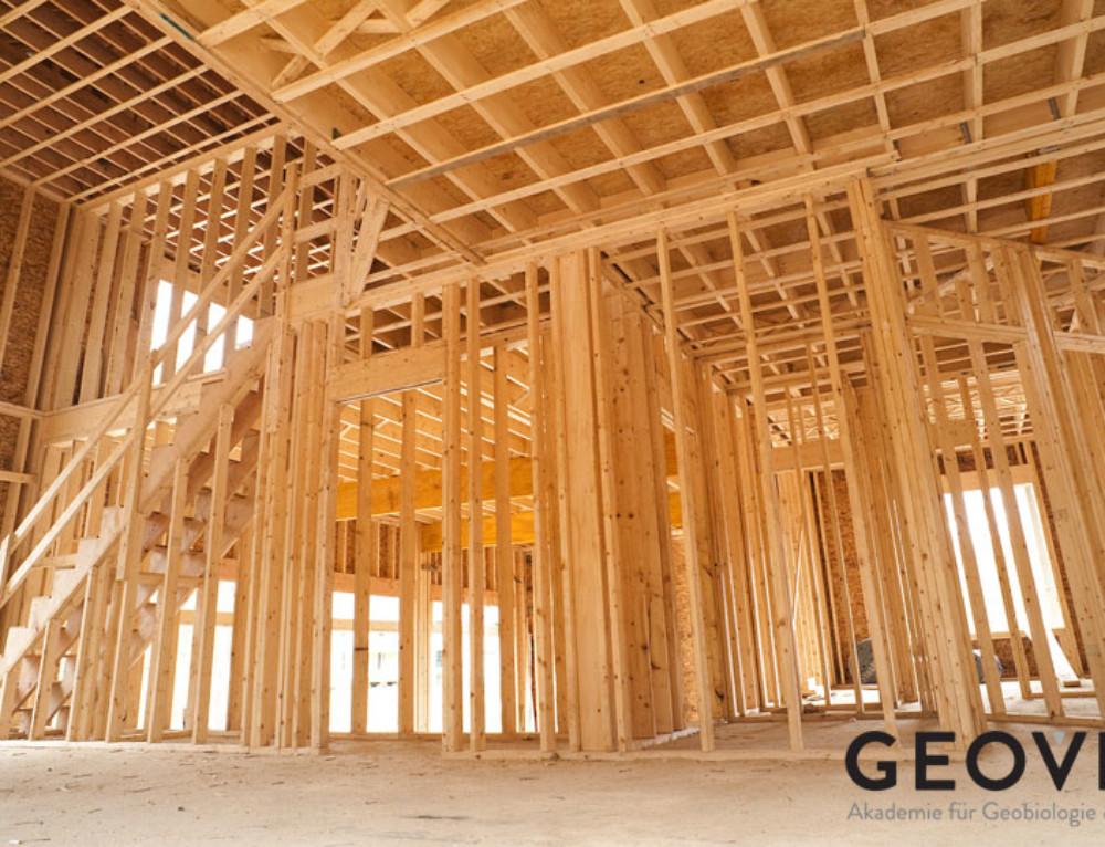 Drevené konštrukcie – drevostavby – obrovská elektrobiologická katastrofa!