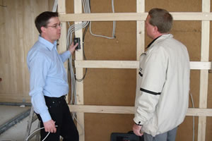 On site measurements and consulting on radiation protection